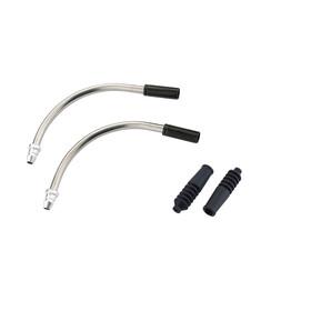 RFR V-Pipe 90° Kabelführung/Aussenhülle schwarz